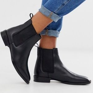 ASOS leather Chelsea boot